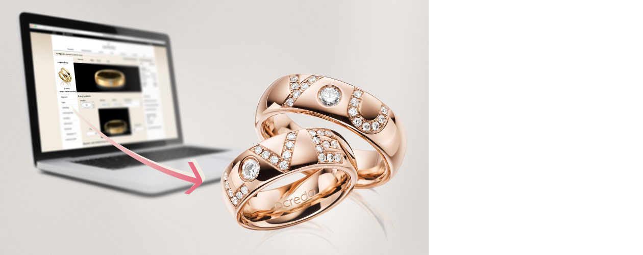 The wedding ring configurator